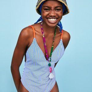 Zara one piece swim wear size small